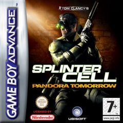 Jaquette de Splinter Cell : Pandora Tomorrow Game Boy Advance