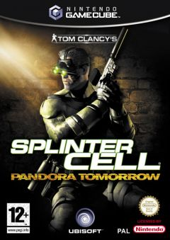 Jaquette de Splinter Cell : Pandora Tomorrow GameCube