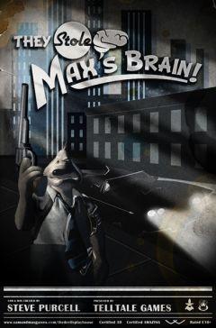 Jaquette de Sam & Max Saison 3 - Episode 3 : Ils Ont Volé le Cerveau de Max ! Mac