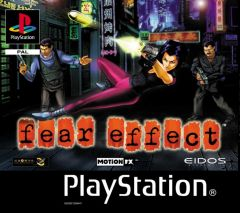 Jaquette de Fear Effect PlayStation