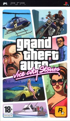 Jaquette de Grand Theft Auto : Vice City Stories PSP
