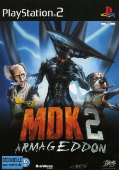 Jaquette de MDK 2 PlayStation 2