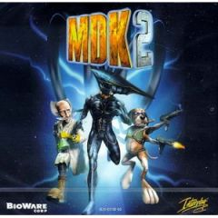 Jaquette de MDK 2 Wii