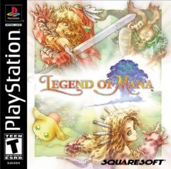 Jaquette de Legend of Mana PlayStation