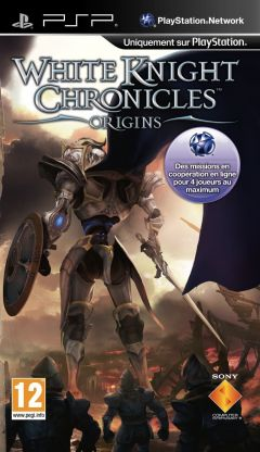 Jaquette de White Knight Chronicles : Origins PSP