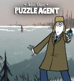 Jaquette de Puzzle Agent Wii