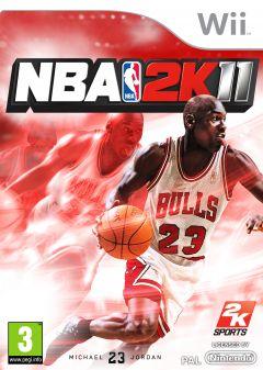 Jaquette de NBA 2K11 Wii