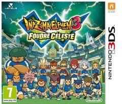 Jaquette de Inazuma Eleven 3 Foudre Céleste Nintendo 3DS