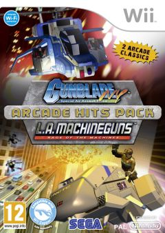 Jaquette de Gunblade NY and LA Machineguns Arcade Hits Pack Wii