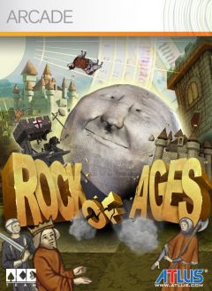 Jaquette de Rock of Ages Xbox 360