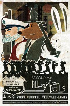Jaquette de Sam & Max Saison 3 - Episode 4 : Au-delà de l'Allée des Poupées PC
