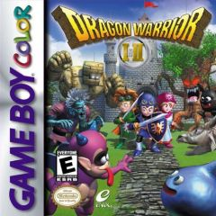 Jaquette de Dragon Quest I & II Game Boy Color