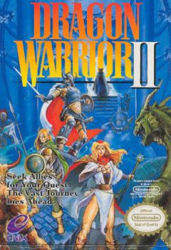 Jaquette de Dragon Quest II NES