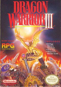 Jaquette de Dragon Quest III NES