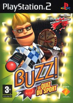 Jaquette de Buzz ! Le Quiz du Sport PlayStation 2