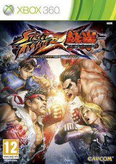 Jaquette de Street Fighter X Tekken Xbox 360