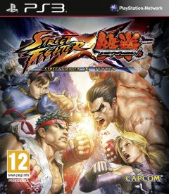 Jaquette de Street Fighter X Tekken PlayStation 3