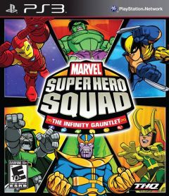 Jaquette de Marvel Super Hero Squad : the Infinity Gauntlet PlayStation 3