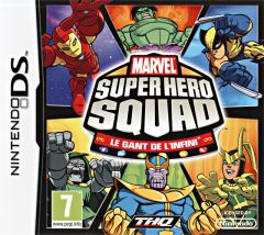 Jaquette de Marvel Super Hero Squad : the Infinity Gauntlet DS