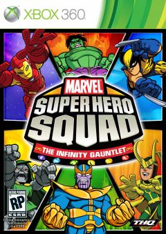 Jaquette de Marvel Super Hero Squad : the Infinity Gauntlet Xbox 360