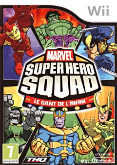 Jaquette de Marvel Super Hero Squad : the Infinity Gauntlet Wii