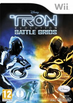 Jaquette de TRON Evolution : Battle Grids Wii