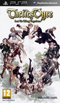 Jaquette de Tactics Ogre : Let Us Cling Together PSP