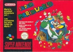 Jaquette de Super Mario World Super NES