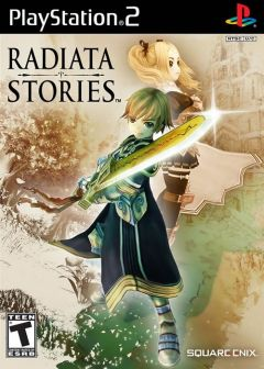 Jaquette de Radiata Stories PlayStation 2