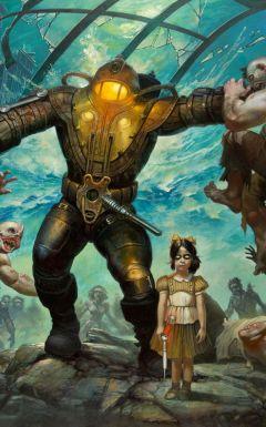 Jaquette de BioShock 2 : L'antre de Minerve PlayStation 3
