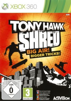 Jaquette de Tony Hawk : Shred Xbox 360