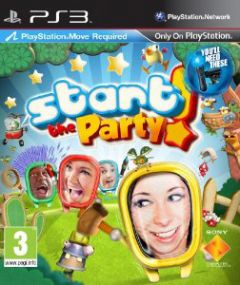 Jaquette de Start the Party ! PlayStation 3