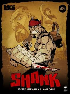 Jaquette de Shank PlayStation 3