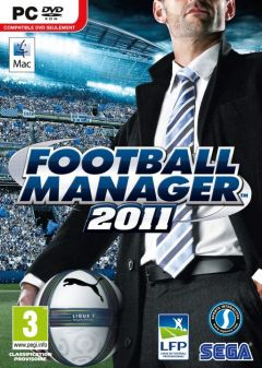 Jaquette de Football Manager 2011 PC
