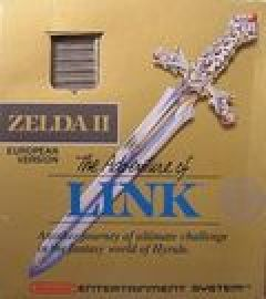 Jaquette de Zelda II : The Adventure of Link NES