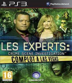 Jaquette de Les Experts : Complot à Las Vegas PlayStation 3