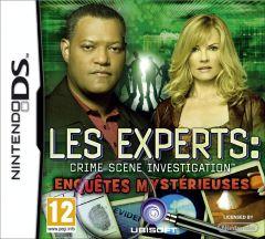 Jaquette de Les Experts : Enquêtes mystérieuses DS