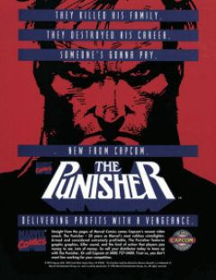 Jaquette de The Punisher Arcade
