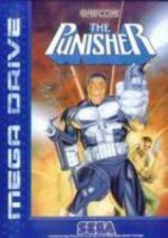 Jaquette de The Punisher Megadrive