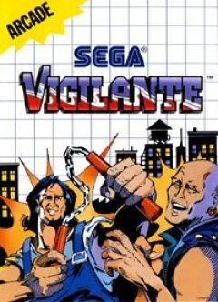 Jaquette de Vigilante Master System