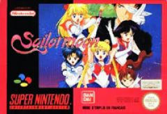 Jaquette de Sailor Moon Super NES