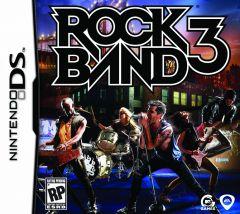 Jaquette de Rock Band 3 DS