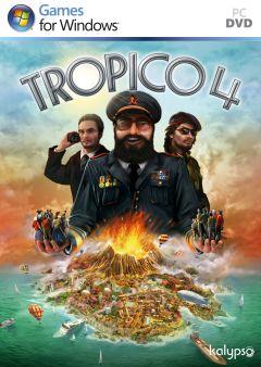 Jaquette de Tropico 4 PC