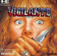 Jaquette de Vigilante PC Engine
