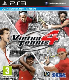 Jaquette de Virtua Tennis 4 PlayStation 3