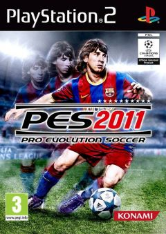 Jaquette de PES 2011 PlayStation 2