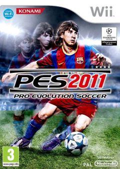 Jaquette de PES 2011 Wii