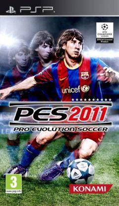 Jaquette de PES 2011 PSP