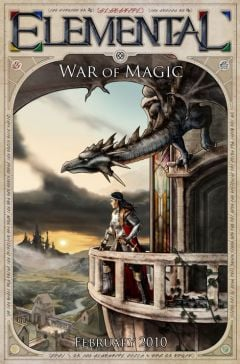Jaquette de Elemental : War of Magic PC