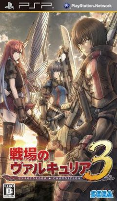 Jaquette de Valkyria Chronicles 3 PSP